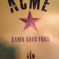 Photo taken at Acme Food & Beverage Co by David L. on 7/28/2013