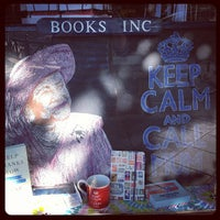 Photo taken at Books Inc. by Julie C. on 5/10/2013