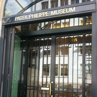 Photo taken at Patek Philippe Museum by Oliver N. on 5/24/2013