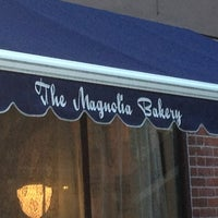 Photo taken at Magnolia Bakery by Andrew P. on 9/6/2013