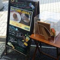 Photo taken at Yufumidoori Coffee by KEY on 2/2/2014