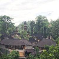 Photo taken at Pura Gunung Lebah - Tjampuhan Ubud by Ahmet A. on 2/2/2016