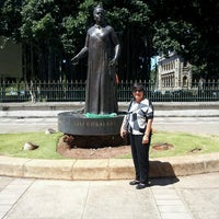 Photo taken at Queen Liliʻuokalani Statue by Kimberly S. on 4/18/2013