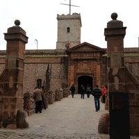 Photo taken at Castillo de Montjuic by Irina A. on 2/25/2013
