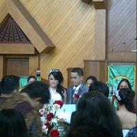 Photo taken at Gereja GPIB Pancaran Kasih by Evangelya j. on 10/6/2012