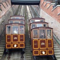 Photo taken at Buda Castle Hill Funicular by Genri M. on 2/21/2015