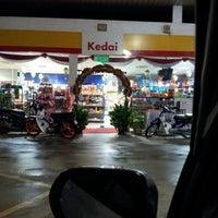 Photo taken at Shell Kampung Merang by Azeman A. on 4/12/2013