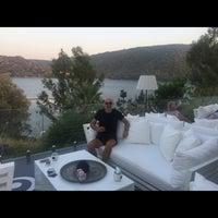 9/4/2018 tarihinde 2020 türkbükü İ.ziyaretçi tarafından Il Riccio Beach House & Restaurant'de çekilen fotoğraf
