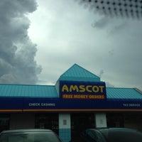 Photo taken at Amscot by Juan Monserrate P. on 10/6/2012