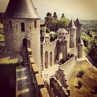 Photo taken at Château Comtal de la Cité de Carcassonne by Frederick T. on 7/20/2013