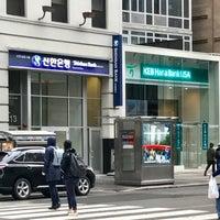Photo taken at Shinhan Bank by Jean P. on 3/8/2017