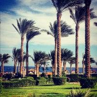 Снимок сделан в Rixos Sharm El Sheikh пользователем Katrin S. 11/24/2012