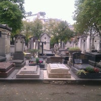 Photo taken at Montparnasse Cemetery by Sonja D. on 10/9/2012