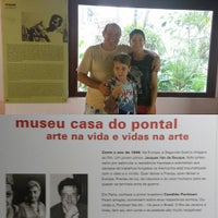 Photo taken at Museu Casa do Pontal by Doralvino S. on 11/5/2016