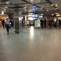 Photo taken at Arrivals E by Liga B. on 8/28/2013