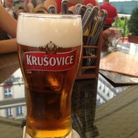 Photo taken at Restaurant hotelu Růže by Liga B. on 8/6/2013