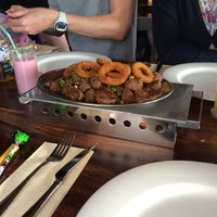 Photo taken at Steakhouse Brasil by Marianne S. on 5/23/2015