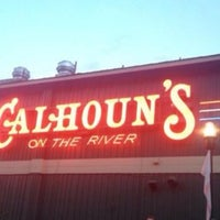 Photo taken at Calhoun's on the River by John C. on 7/29/2013