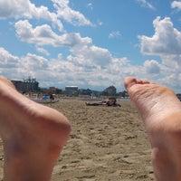 Photo taken at Spiaggia di Cattolica by Stefano Andrea S. on 5/26/2013