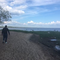 Photo taken at пляж Смолячково by Julia L. on 6/10/2017