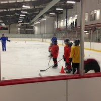Photo taken at Prince William Ice Center by Marjan S. on 11/26/2012