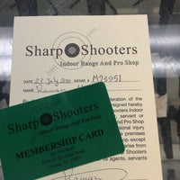 Photo taken at Sharp Shooters by Ray . on 7/23/2016
