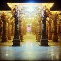Photo taken at Swaminaryan Mandir by Kunal T. on 12/1/2013