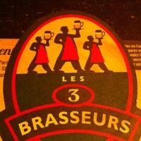 Das Foto wurde bei Les 3 Brasseurs von Caroline L. am 11/20/2012 aufgenommen