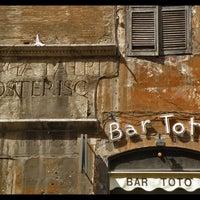 Photo taken at Bar Totò by Michael on 3/19/2013