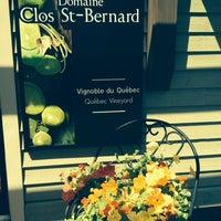 Photo taken at Clos Saint-bernard by Lynne F. on 6/7/2014