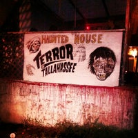 Photo taken at Terror of Tallahassee by Wesley P. on 10/27/2012