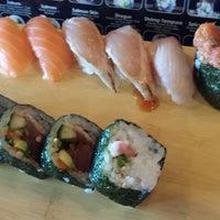 Photo taken at Wasabi Sushi Centennial by Kelly M. on 4/12/2014