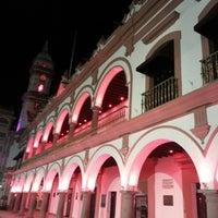 Foto tomada en Zócalo por Turismo E. el 10/5/2012