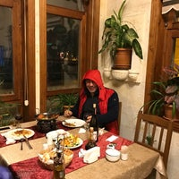 Photo taken at Stone House Cave Hotel by Baran B. on 12/30/2016