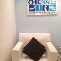 Photo taken at Chic Nails by Kristine G. on 12/15/2013