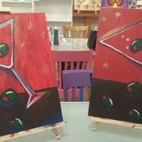Photo taken at Burst of Butterflies Create & Paint Studio by Cheryl T. on 3/7/2015