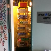 Photo taken at Peace & Justice Store by Nicholas K. on 5/23/2013