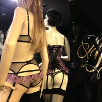 Photo taken at Agent Provocateur by Roman Y. on 1/7/2013