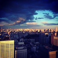 Photo taken at North Observatory, Tokyo Metropolitan Government Building by くろかい on 4/7/2013