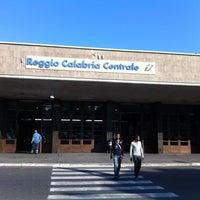 Photo taken at Stazione Reggio Calabria Centrale by Lucy e D. on 8/25/2013