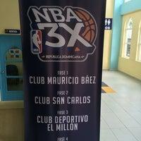 Photo taken at Club Deportivo y Cultural Mauricio Baez by Vinz D. on 7/23/2016