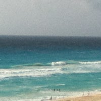 Photo taken at Playa Marlin by nataly v. on 4/19/2013