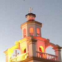 Photo taken at St. Jerome Emiliani & Sta. Susana Parish by shel t. on 2/10/2013