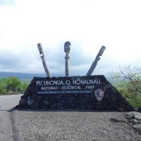 Photo taken at Puʻuhonua o Hōnaunau National Historical Park by David V. on 11/7/2012