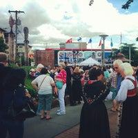 Photo taken at Bergen Place by Johannes E. on 5/17/2014