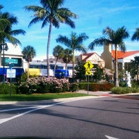 Photo taken at St. Armands Circle by Gillian's P. on 10/19/2012
