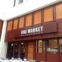 Photo taken at One Market Restaurant by vivian c. on 10/6/2012