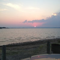 Photo taken at Windsurf Bay Park by Kerry C. on 7/4/2013