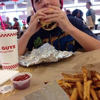 Photo taken at Five Guys by Aaron R. on 10/12/2013