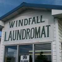 Photo taken at Windfall Laundromat by Donna D. on 10/1/2012